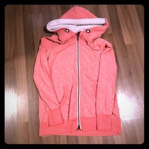 Tops - 💗2for20$💗Hooded zip up sweater
